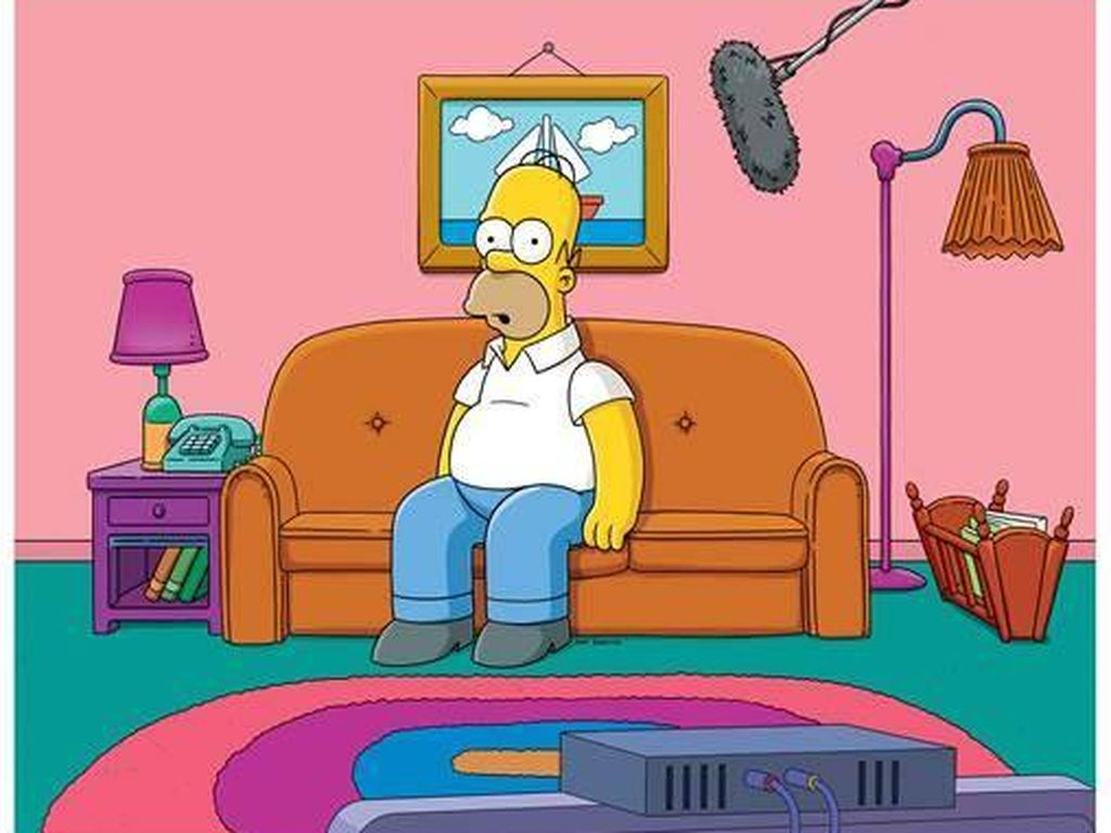 Homer Simpson, bis 2015 von Norbert Gastell synchronisiert
