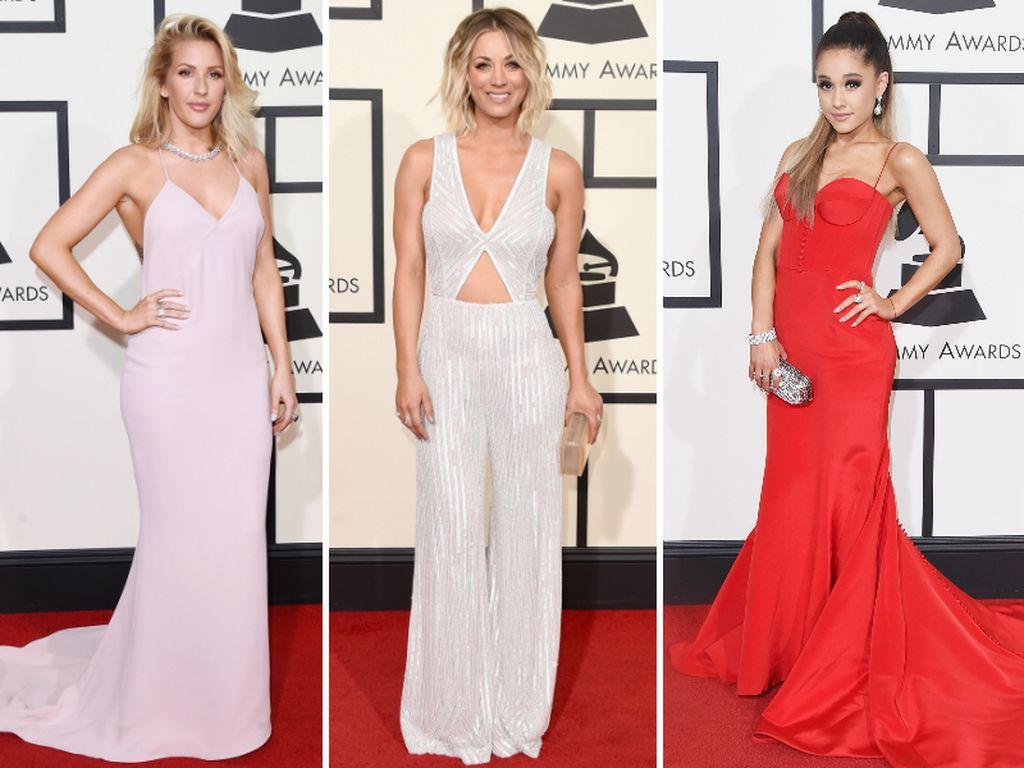 Ellie Goulding, Kaley Cuoco und Ariana Grande