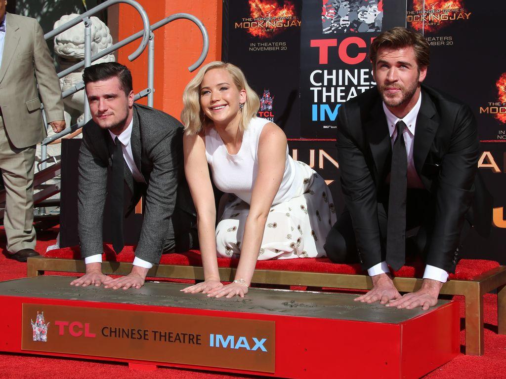 Liam Hemsworth, Hunger Games, Jennifer Lawrence und Josh Hutcherson