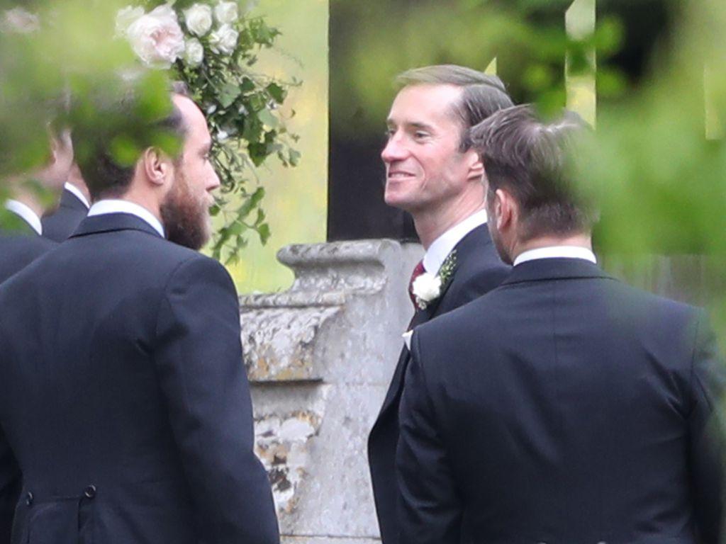 James Middleton und James Matthews bei Pippas Hochzeit