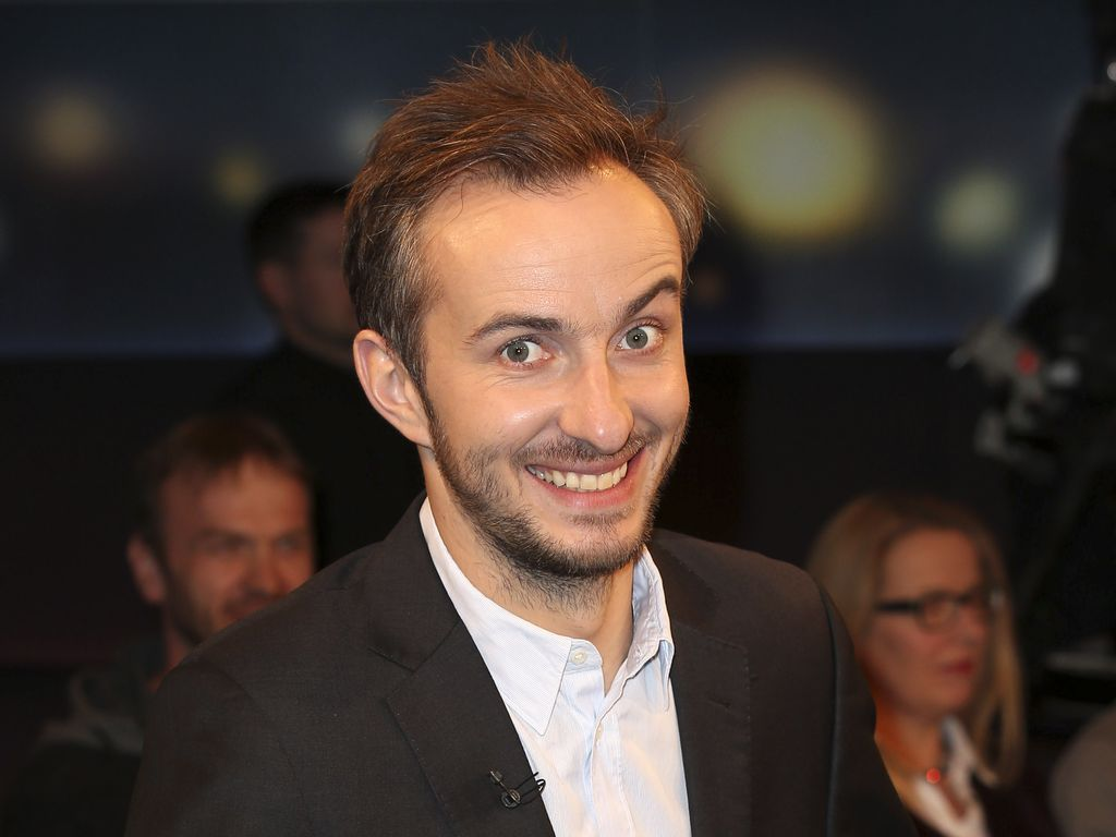 Jan Böhmermann in Talkshow