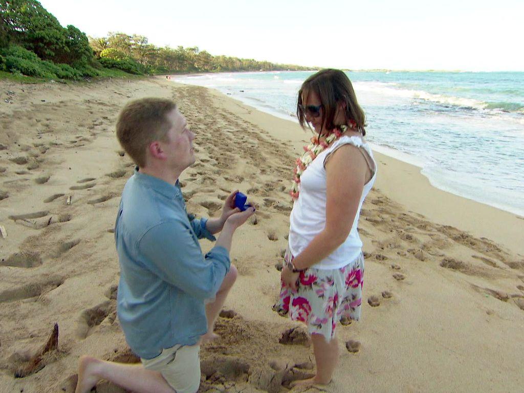 Janina Reimann bekommt von Freund Coleman einen Heiratsantrag
