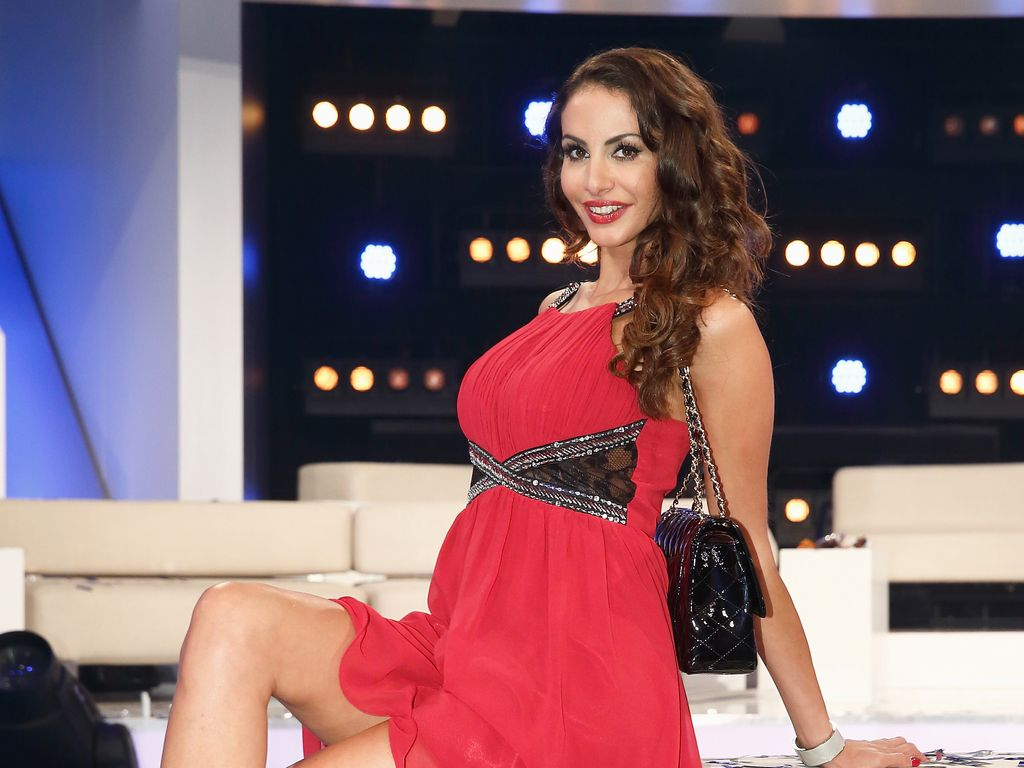 Janina Youssefian beim Promi Big Brother Finale 2014
