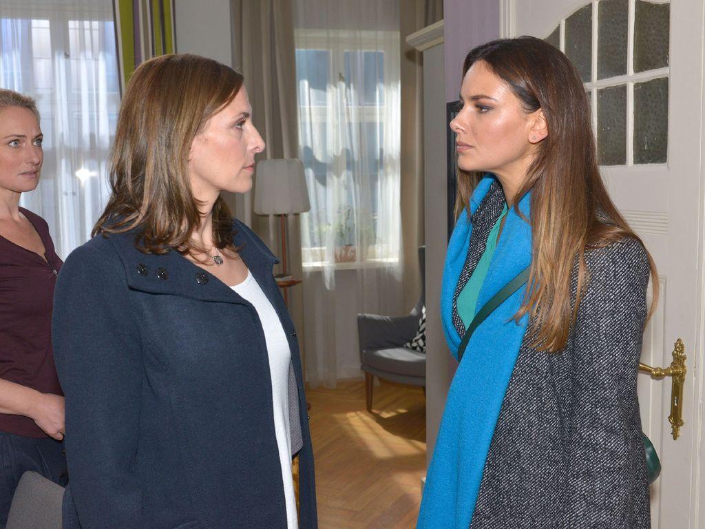 Ulrike Frank mit Janina Uhse