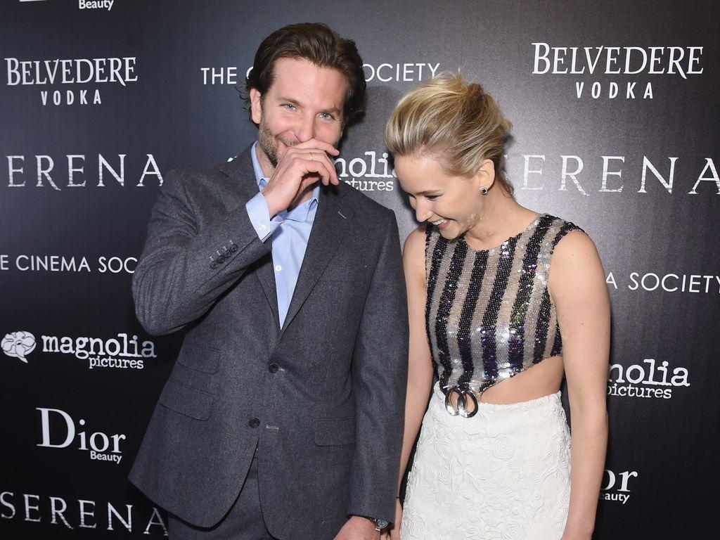 Jennifer Lawrence und Bradley Cooper