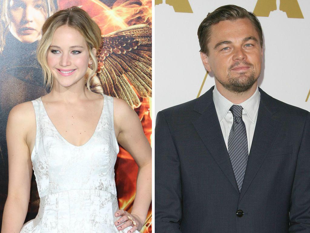 Leonardo DiCaprio und Jennifer Lawrence