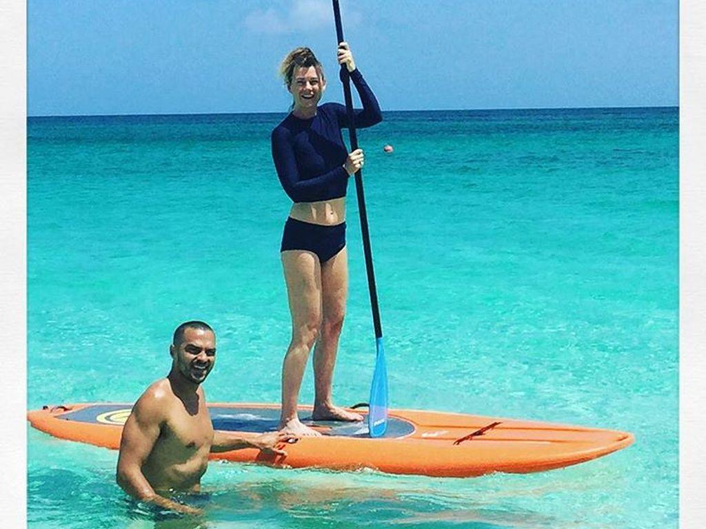 Jesse Williams und Ellen Pompeo im Urlaub auf Hawaii