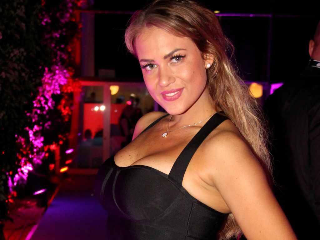 "Jessica Paszka auf der ""Promi Big Brother 2016""-Aftershow-Party"