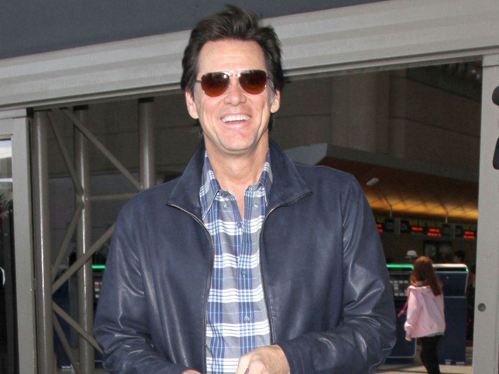 Jim Carrey am LAX