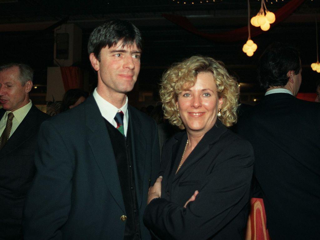 Joachim und Daniela Löw im Jahr 1996