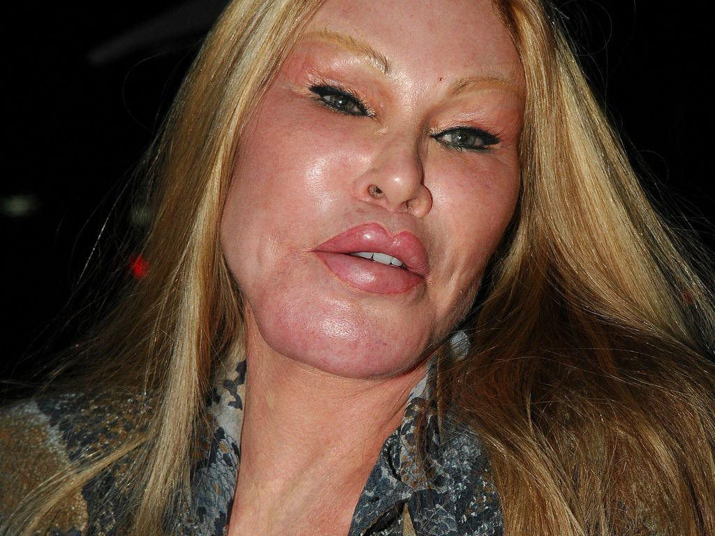 Jocelyn Wildenstein in Beverly Hills