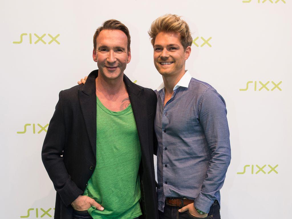 Jochen Bendel mit Matthias Pridöhl beim 5. Geburtstag des Senders Sixx