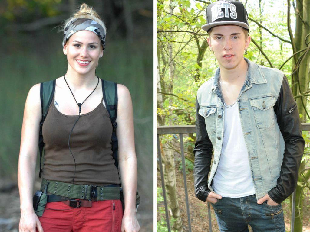 Angelina Heger und Joey Heindle