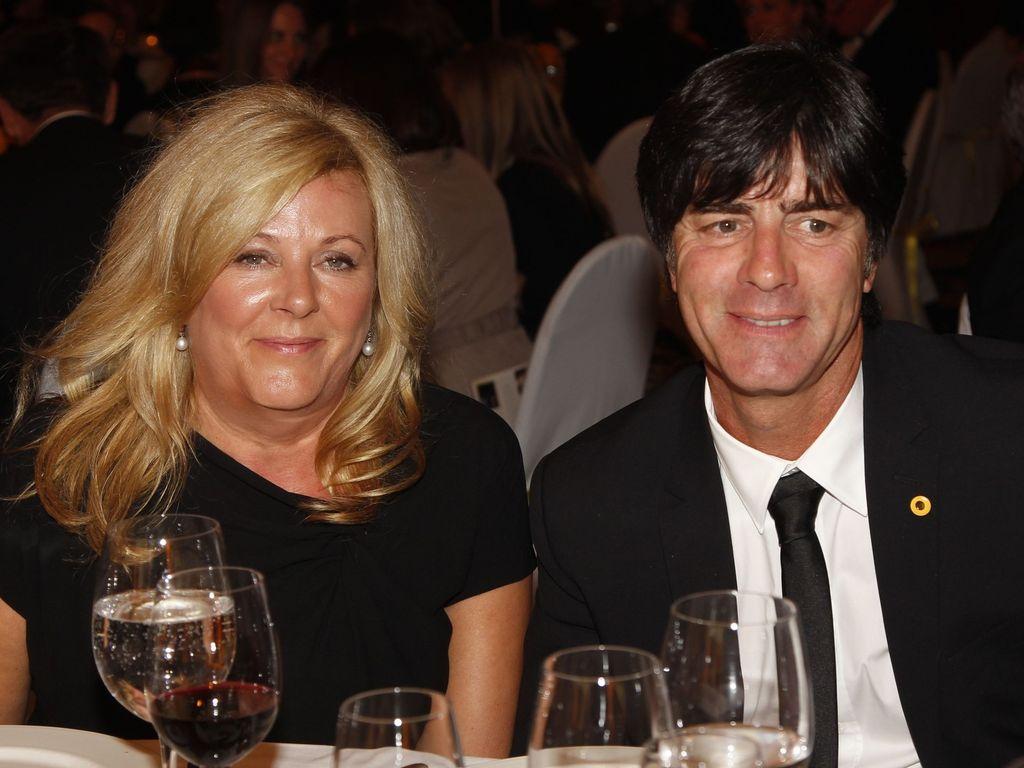 Joachim Löw und Frau Daniela