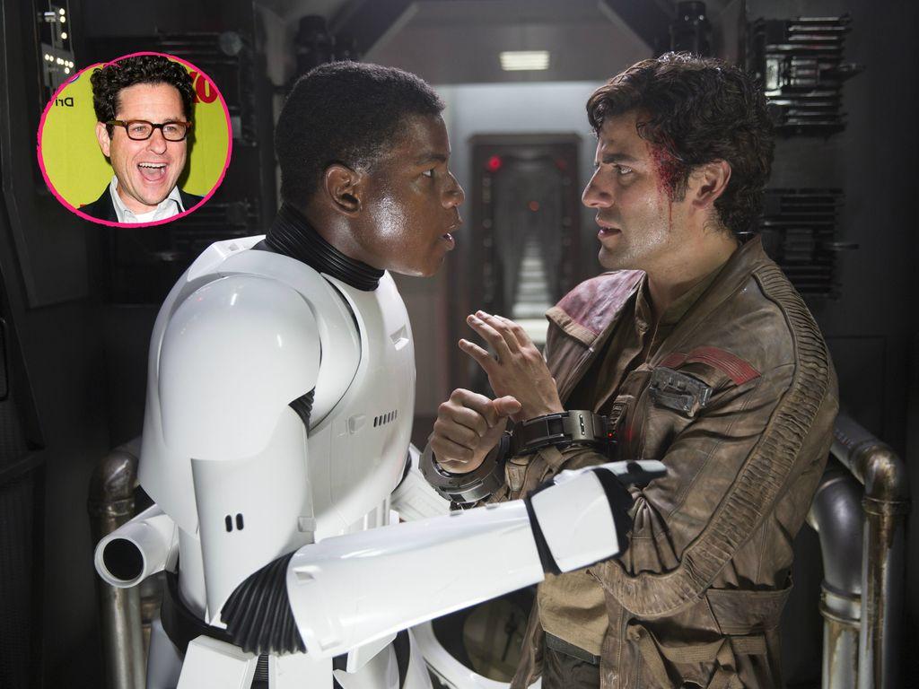 J. J. Abrams, Oscar Isaac und John Boyega