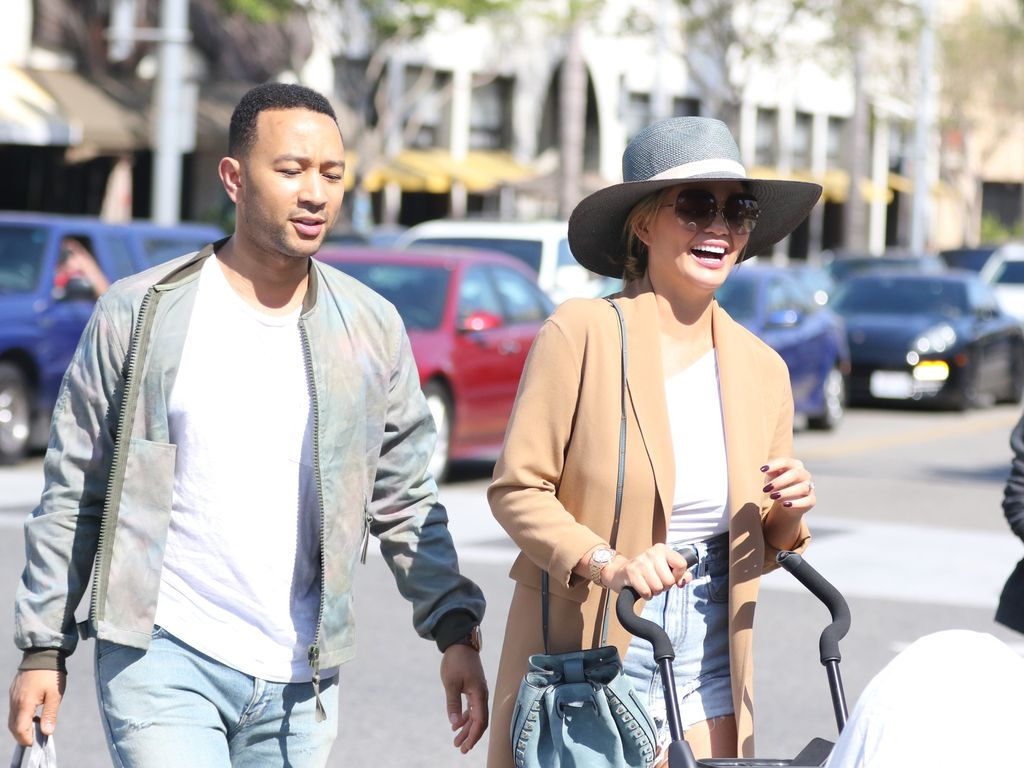 John Legend und Chrissy Teigen in Beverly Hills