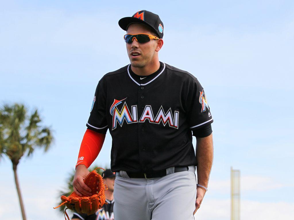 Jose Fernandez beim Training der Miami Marlins