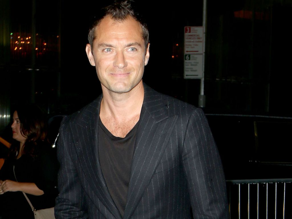 "Jude Law bei ""Genius""-Premiere in New York"