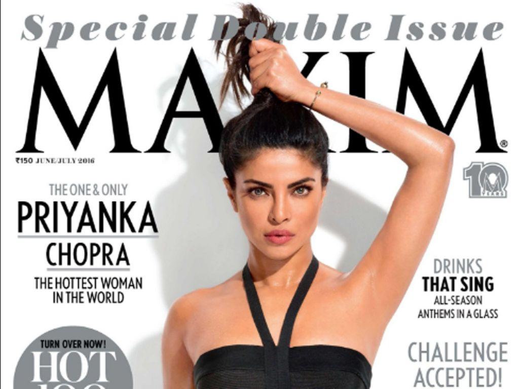 Juni/ Juli 2016 Cover der indischen Maxim