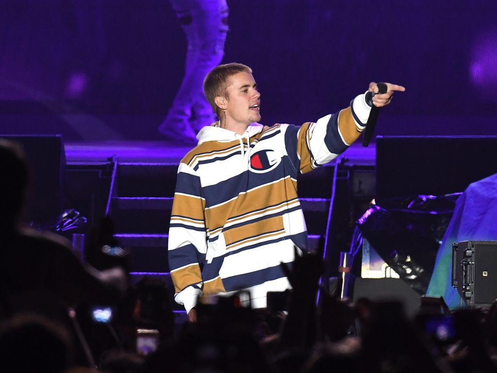 Justin Bieber beim V Festival