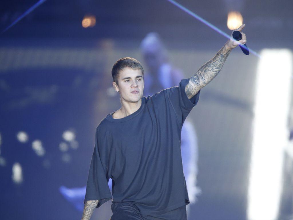 Justin Bieber bei einem Konzert in Kopenhagen
