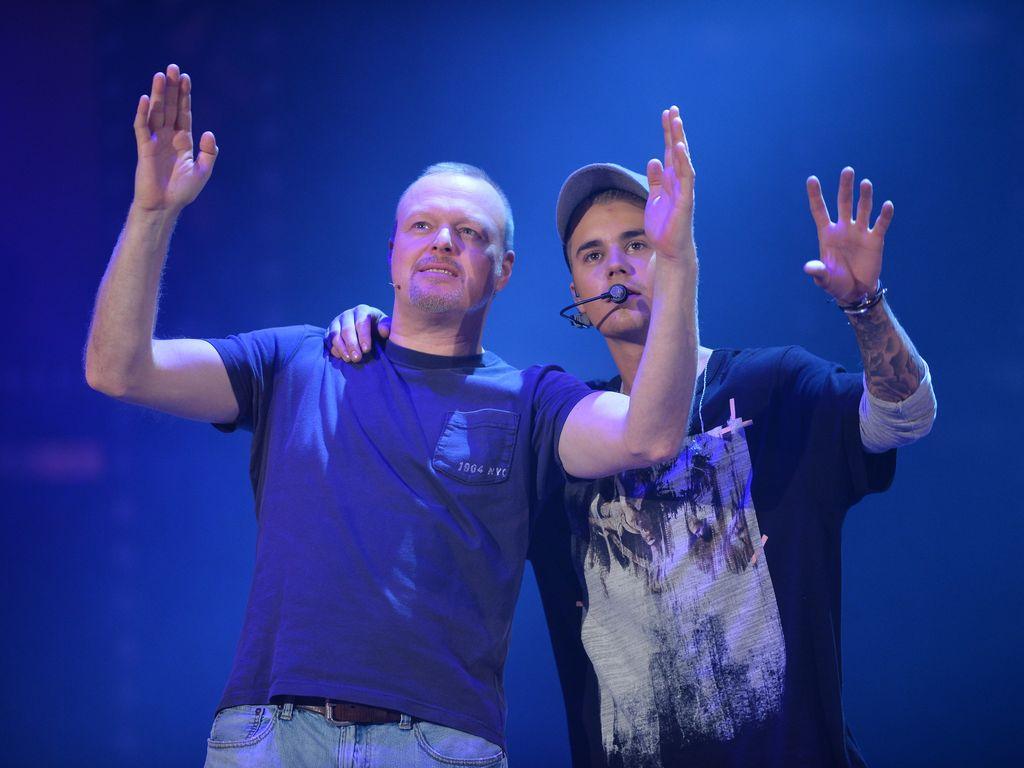 Justin Bieber und Stefan Raab