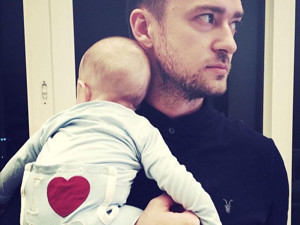 Justin Timberlake und Silas Randall Timberlake