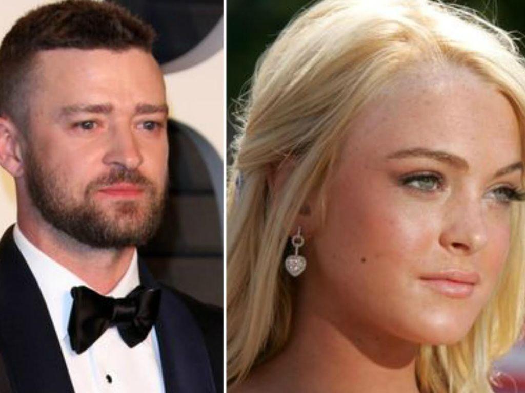 Justin Timberlake und Lindsay Lohan