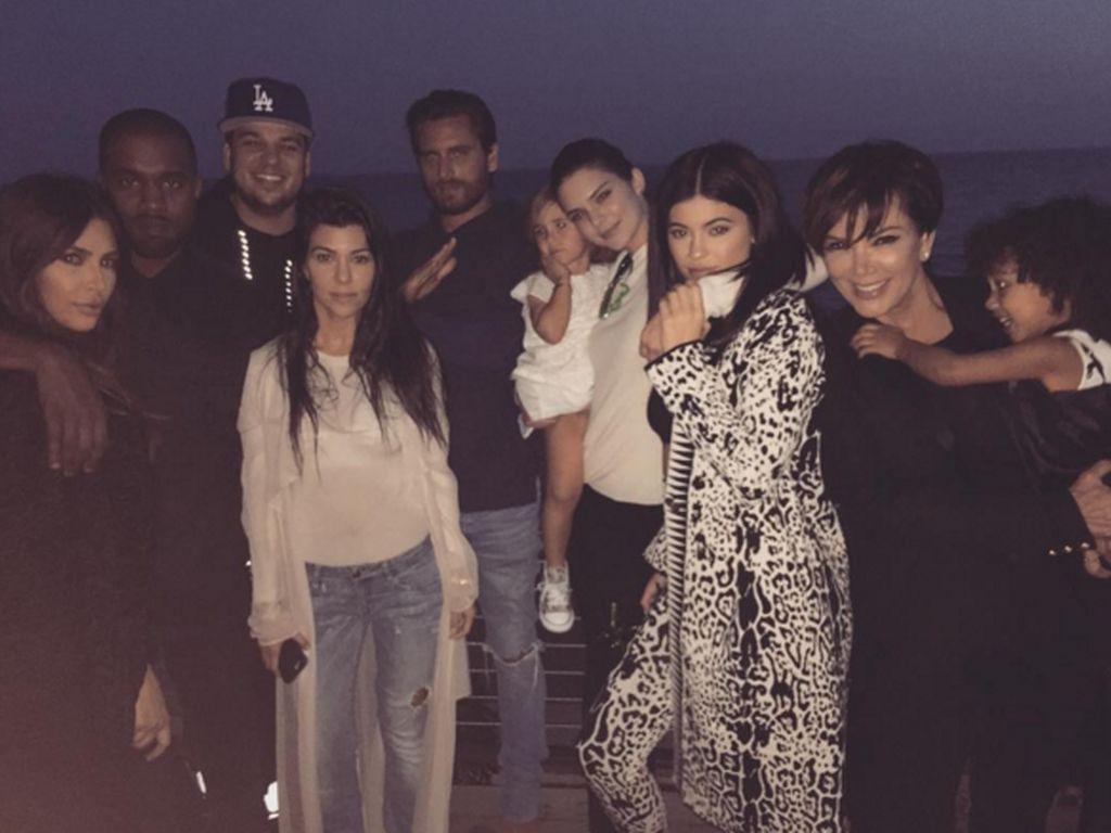 Die Kardashian-Jenner-Familie