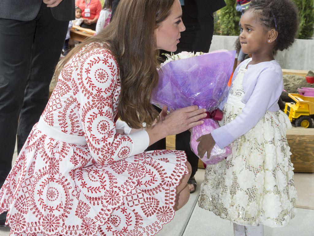 Kate Middleton während ihrer royalen Reise durch Kanada