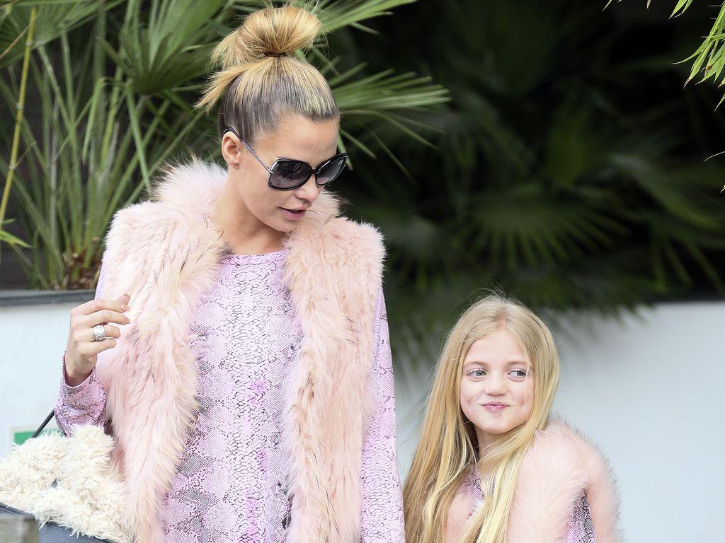 Katie Price und Princess Tiaamii
