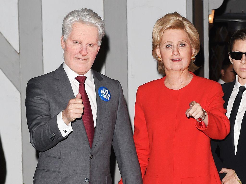 Katy Perry verkleidet als Hillary Clinton