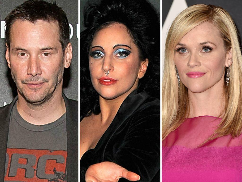 Lady GaGa, Reese Witherspoon und Keanu Reeves