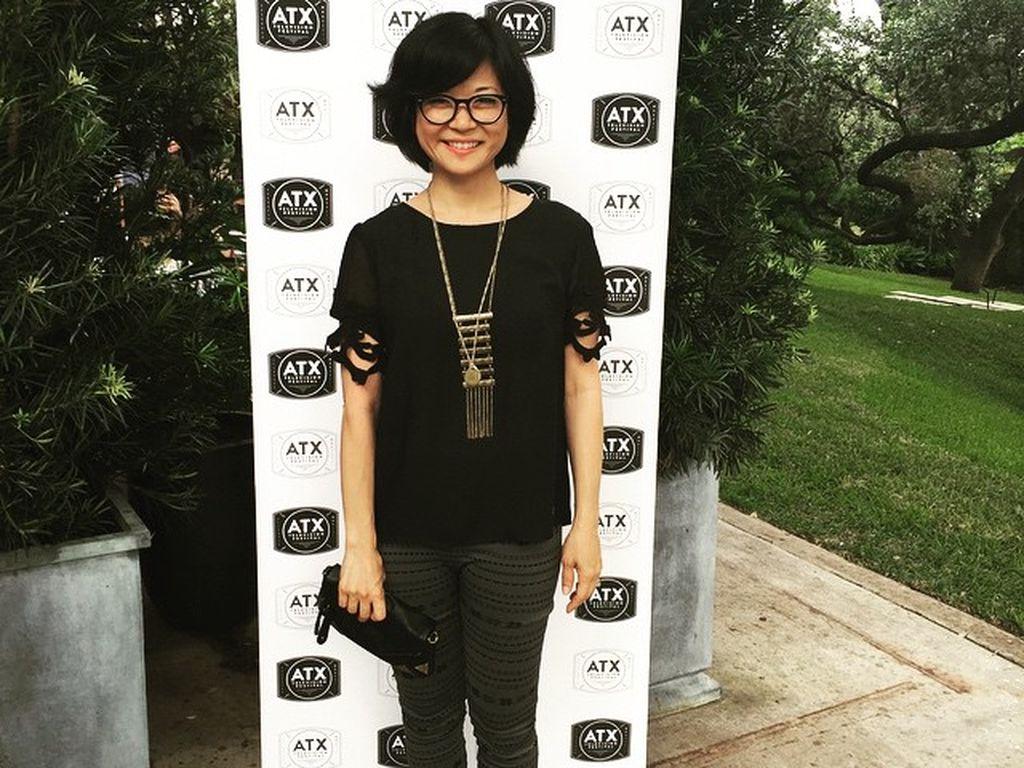 Keiko Agena bei einem Filmfestival