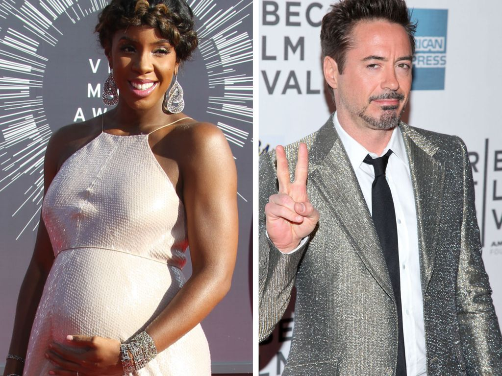 Robert Downey Junior und Kelly Rowland