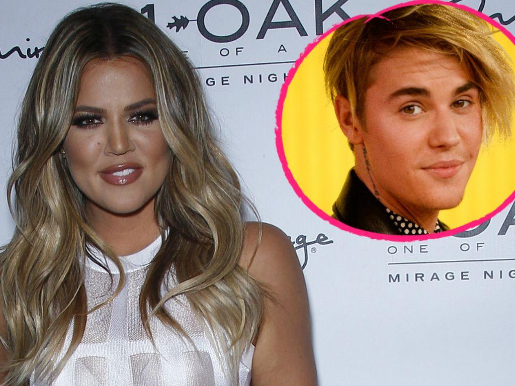 Justin Bieber und Khloe Kardashian