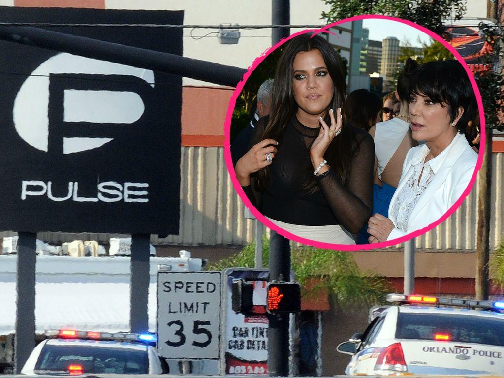 Khloe Kardashian und Kris Jenner nehmen Anteil an der Tragödie in Orlando