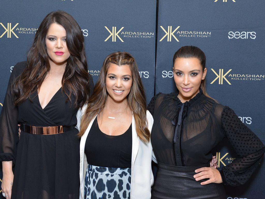 Khloe, Kourtney und Kim Kardashian in New York
