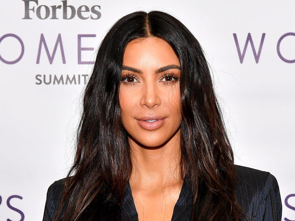 Kim Kardashian bei dem Forbes Women's Summit