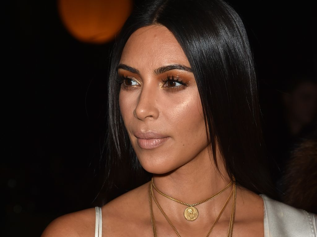 Kim Kardashian bei Givenchy auf der Pariser Fashion Week