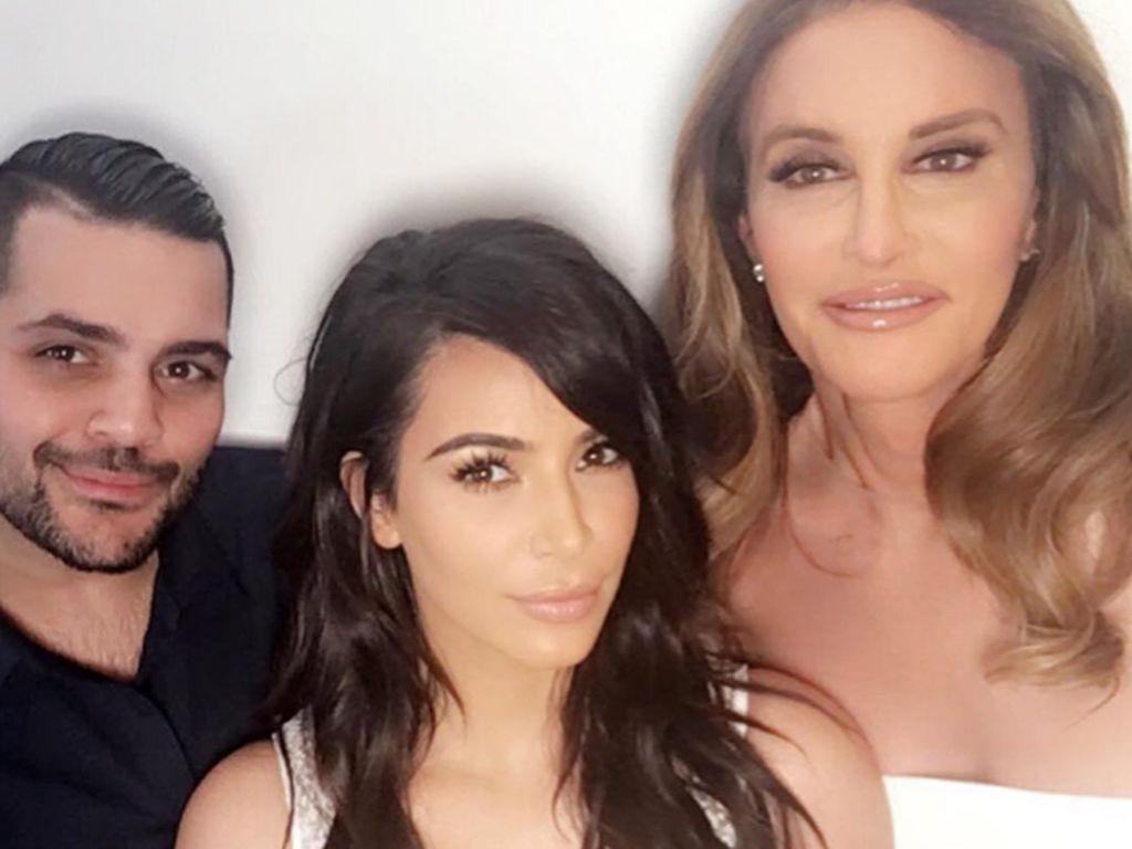 Kim Kardashian und Caitlyn Jenner beim ESPY Award 2016