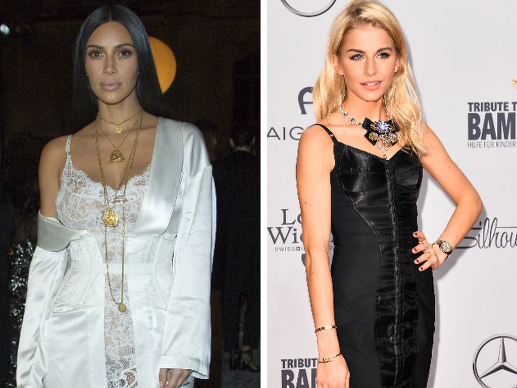 Kim Kardashian und Caro Daur