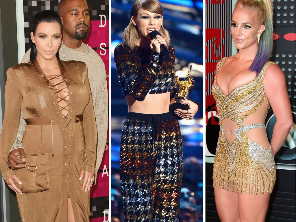 Taylor Swift, Kim Kardashian und Britney Spears