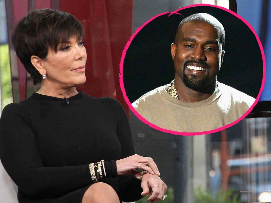 Kanye West und Kris Jenner