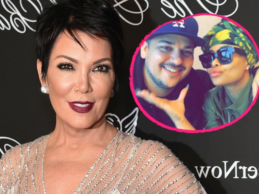 Blac Chyna, Robert Kardashian und Kris Jenner
