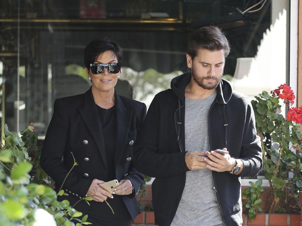 Kris Jenner und Scott Disick