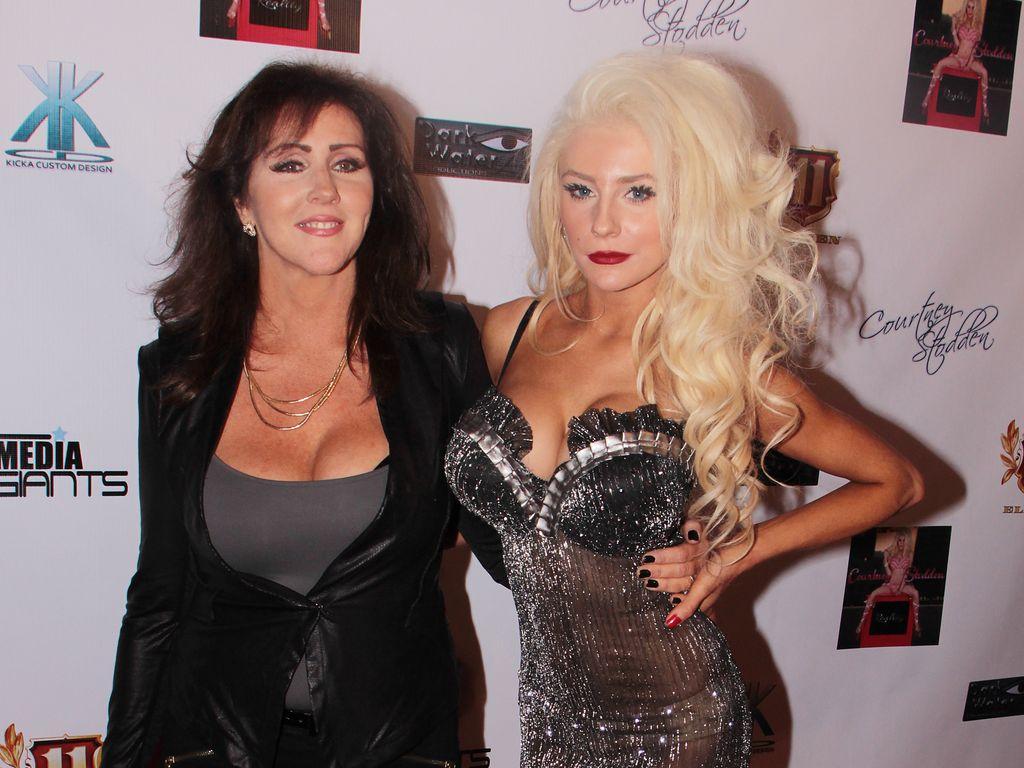 Krista Keller und Tochter Courtney Stodden in einem Club in L.A.