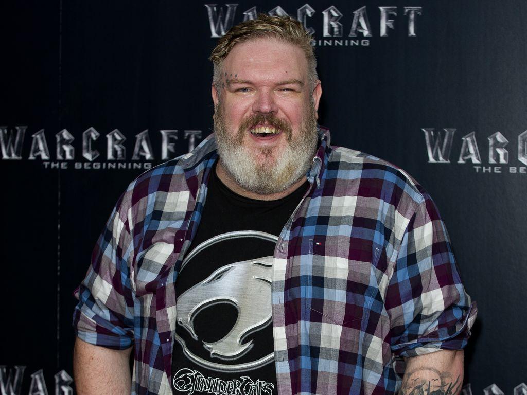Kristian Nairn beim Screening von 'Warcraft: The Beginning'