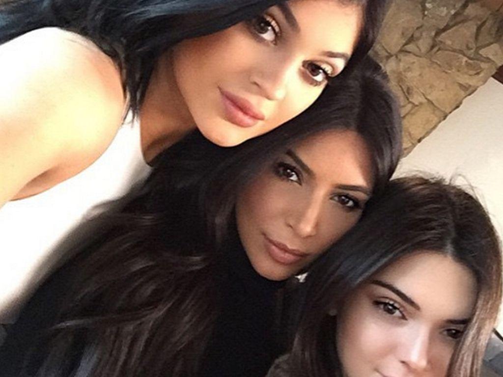 Kylie Jenner, Kim Kardashian und Kendall Jenner