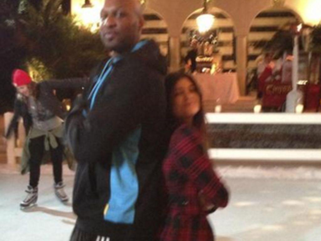 Kylie Jenner und Lamar Odom